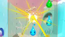 Raindrop Pop: Chaining effect
