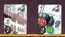 Splendor: Reserved cards