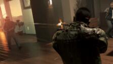 Shootout inside a penthouse in Mafia III