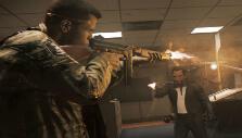Using a Tommy gun Mafia III