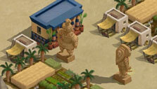 Collect artifacts in Ancient Alien: The Game
