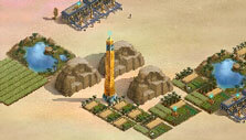 Ancient Alien: The Game: Aerial view of the map