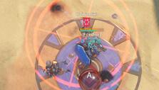 Blazing Core: Aerial bombardment