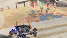 High ground advantage in Blazing Core