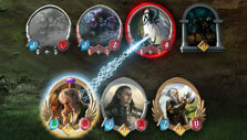 LOTR Living Card Game: Combat gameplay