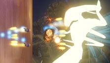 Fighting aliens in Rigid Force Alpha