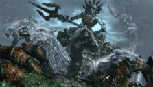 Fighting the Leviathan in God of War III