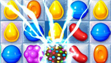 Candy Crush Friends Saga: Chocolate ball