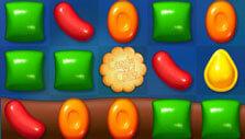 Candy Crush Friends Saga: Dunk the cookie