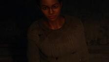 Wearing Pamela Voorhes' sweater