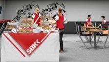 SBK Team Manager: Organize a buffet