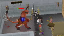 Old School Runescape: At the wizard's tower