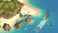 Admirals: Caribbean Empires: Busy trading route