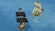 Admirals: Caribbean Empires: Battling pirates