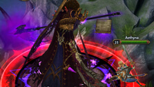 Raiding an instance in Queen of Dragons