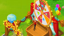 Spin the wheel of fortune in Tasty Town