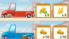 Tasty Town: Delivery truck
