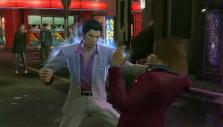 Kiryu brawling in Yakuza Kiwami