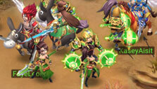 Mounts and players in Three Kingdoms - Idle Games