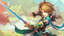 Three Kingdoms - Idle Games: Male warrior from Shu