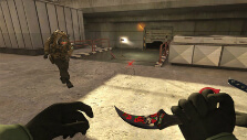 Bringing a gun to a knife fight in Combat Arms: Reloaded