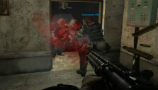 Taking out enemies in Combat Arms: Reloaded