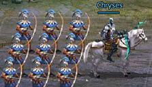 Troop formation in Kings of War