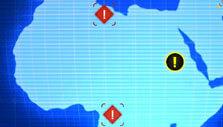 World map in Robothorium