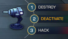Disabling turrets in Robothorium
