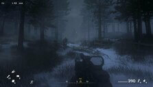Traversing through the snowy forests of Russia in CoD: MWR