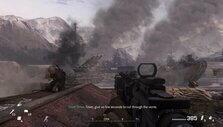 The smoke of war in CoD: MWR