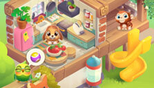 Fern's pet shelter in Pet Rescue Puzzle Saga