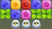 Pet Rescue Puzzle Saga: Cracking eggs