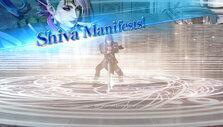 Summoning Shiva in Dissidia Final Fantasy NT