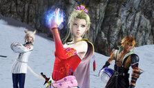 Preparing for battle in Dissidia Final Fantasy NT