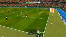 Corner kick in Super Arcade Football