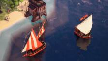 Fishing boat in Empires Apart