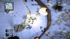Battle in the snow in Techwars