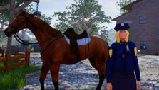 Saddled my horse in Horse Riding Deluxe