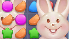 Uncover rabbits in Candy Land