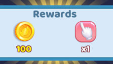 Chest rewards in Candy Land