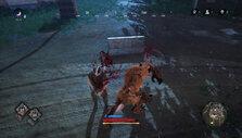 Werewolf attack in Don't Even Think