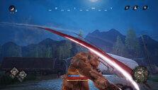 Werewolf claw attack in Don't Even Think