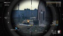 Using a scope in Sniper Elite 4