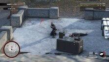 Targeting an enemy in Sniper Elite 4