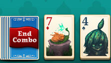 Ending a combo in Faerie Solitaire Harvest Free