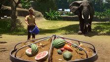 Feeding the elephants in Planet Zoo