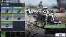 Customizing battle royale helicopter