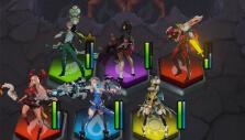 Full team in Battle Breakers