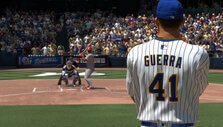 At bat in MLB The Show 19